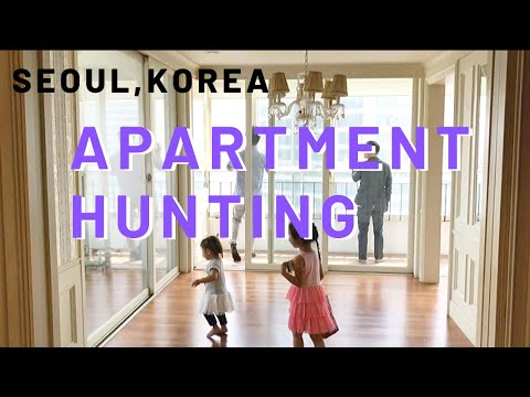Kawaii Vlog #2: House Hunting in Seoul, Korea- High rise Apartments