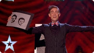 Matt Edwards still has burning love for Ant \u0026 Dec | Grand Final | Britain's Got Talent 2017