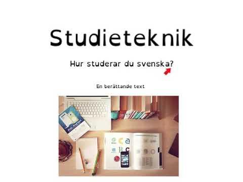 Studieteknik - hur