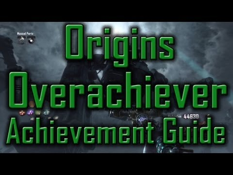 Black ops 2 zombies origins overachiever achievement - Black ops 2 origins walkthrough ...