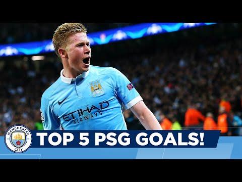 Top 5 Goals vs PSG!