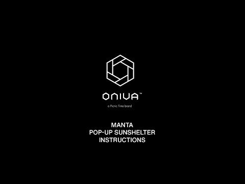 size 40 a66ec 3b7bc Manta Pop Up Sun Shelter Folding Instructions - 2019