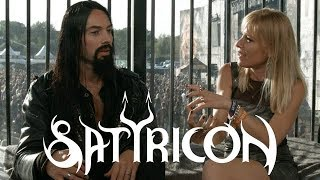 SATYRICON - Frost: 'Deep Calleth Upon Deep', red energy and vegan choices @ Alcatraz fest 2018