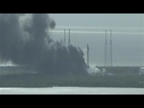 SpaceX Explosion Destroys Satellite During Test