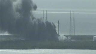 SpaceX Explosion Destroys Satellite During Test