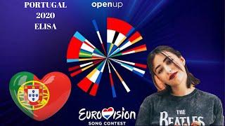 "ROAD TO EUROVISION 2020 | PORTUGAL WITH ELISA ""MEDO DE SENTIR"" 🇵🇹"