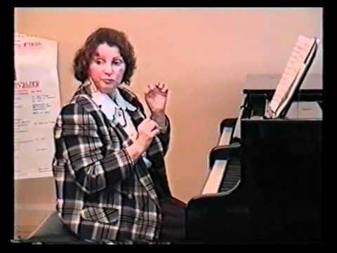 Уроки игры на пианино (фортепьяно). Игра на piano - Часть 1