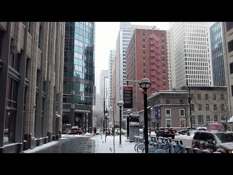 Walking in Downtown Chicago (Friday, Feb 9, 2018)