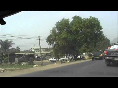 Driving Thru Koforidua (Eastern Region, Ghana) - January 2012