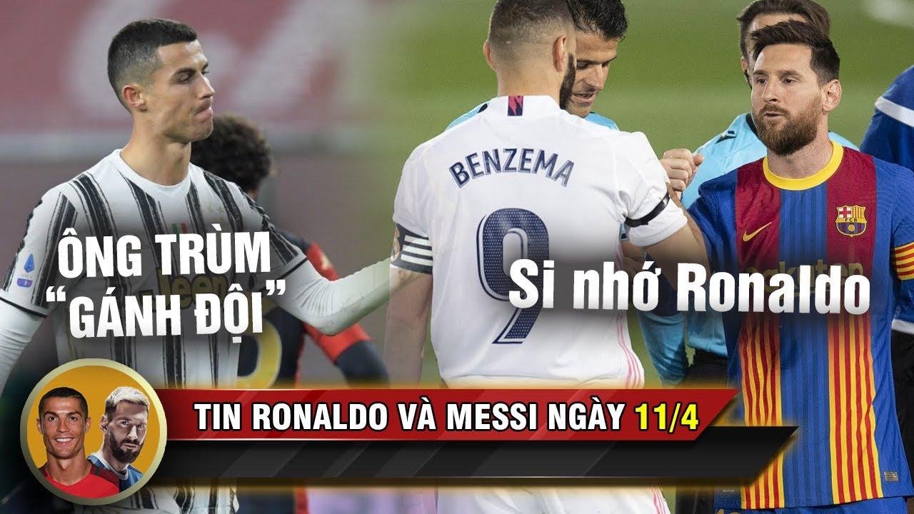 TIN RONALDO MESSI 11/4 |  Messi thiết lập kỷ lục buồn - Vừa gánh Juve, Ronaldo vừa đua Vua phá lưới