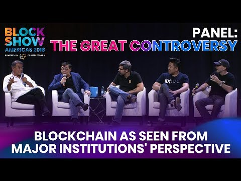The Great Controversy: Blockchain as Seen From Major Institutions' Perspective