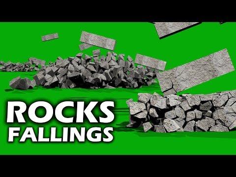 FREE HD Green Screen ROCKS SMASHING WALL REVEALиз YouTube · Длительность: 50 с