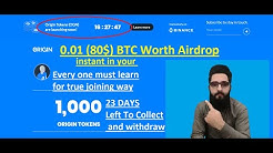 80$ BTC Worth Big Airdrop||Origin Protocol  Complete Detail ||Just Like Energi Tokens Listed on BNB