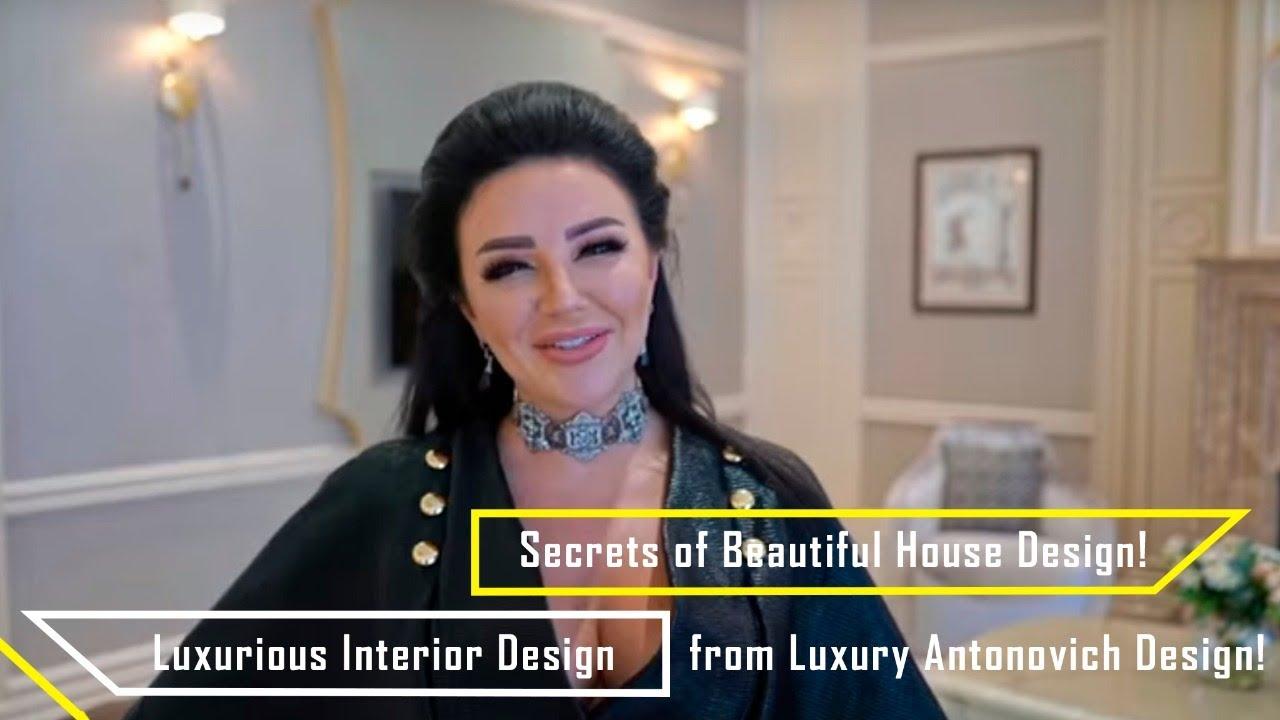 Luxurious Interior Design! Secrets of Beautiful House Design!