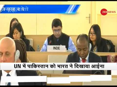 Morning Breaking: UN declared terrorists roam freely in Pakistan, says India
