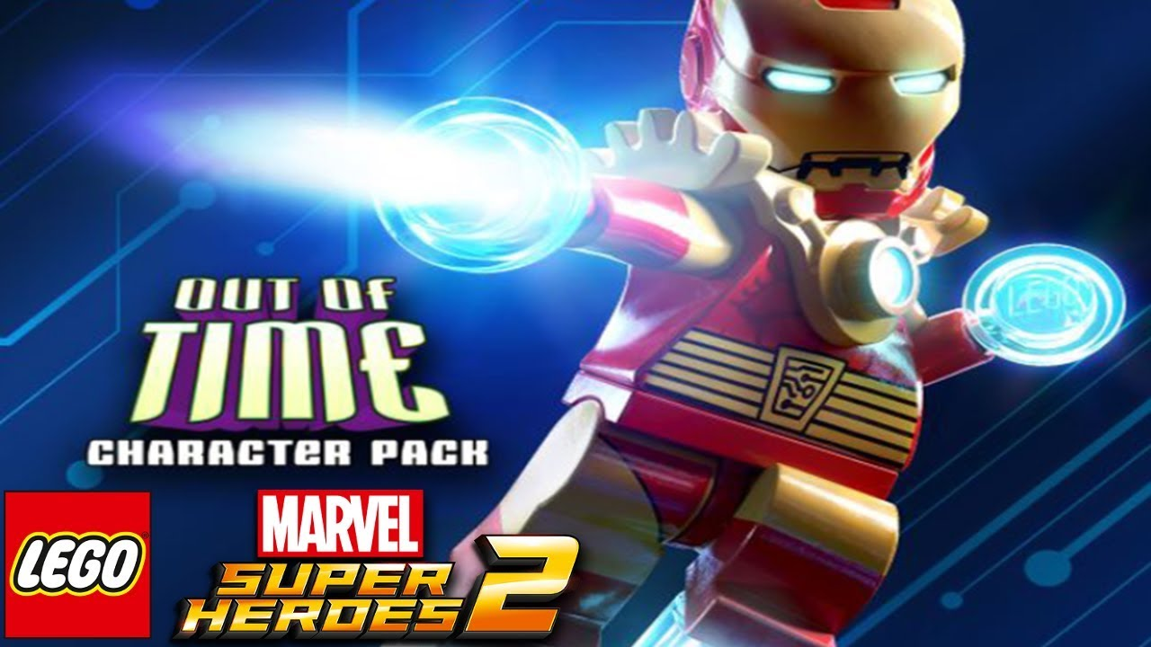 Marvel Super Heroes 60 Superhéroes: 'Out Of Time' DLC Characters