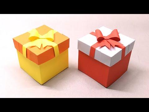Cách làm hộp quà tặng đơn giản tặng sinh nhật   Foci