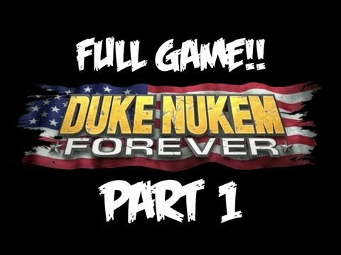 Duke Nukem Forever Walkthrough Part 1 [Chapter 1 & 2] - GIVEAWAY! - Let's Play (Gameplay)