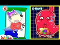 Wolfoo, Don't Overeat! - Your Stomach Got a Boo Boo - Learn Healthy Habits for Kids | Wolfoo Channel