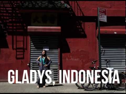 Gladys, from Indonesia - Real People. Real Lives.
