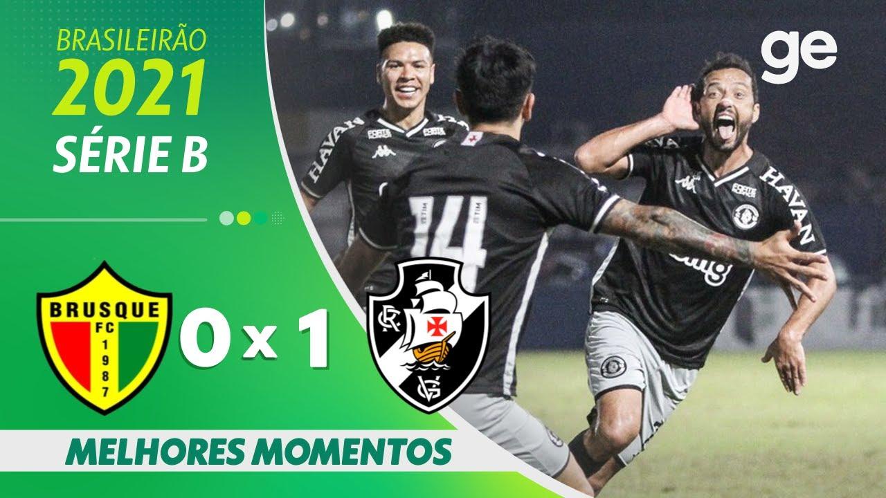 Download BRUSQUE 0 x 1 VASCO   MELHORES MOMENTOS   26ª RODADA BRASILEIRÃO SÉRIE B 2021   ge.globo