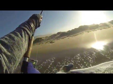 Surf Fishing VAFB, CA 10112015