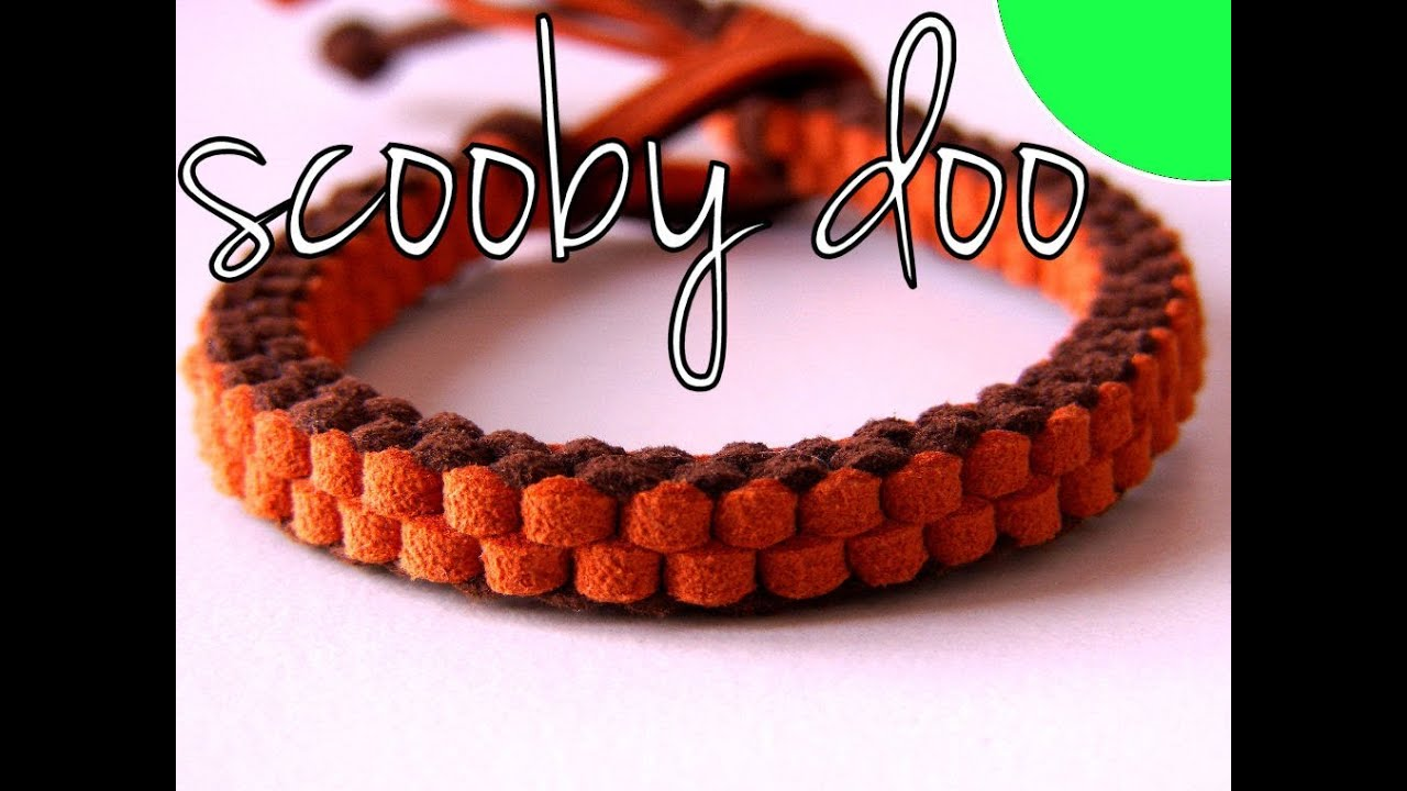 26d7462d3301 Tutorial DIY - Pulsera Nudo Scooby doo - YouTube