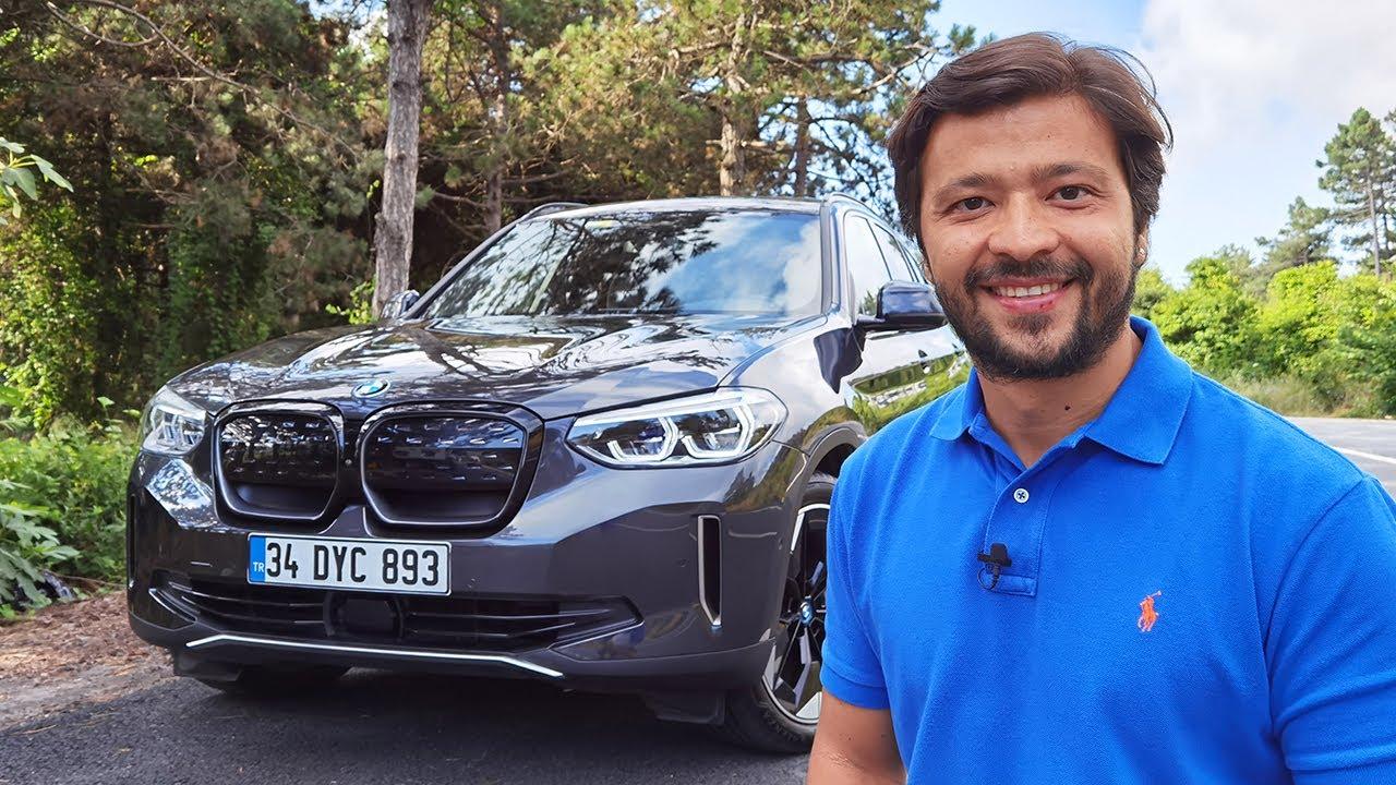 BMW iX3 Test Sürüşü - Tamamen elektrikli X3 alınır mı?