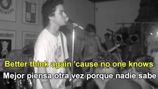 Green Day - No One Knows (Subtitulado Español E Inglés)