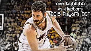 Kevin Love 14 pts, 4 reb & 3 ast vs. Raptors (NBA Playoffs 2016 ECF G1) -17.05.2016