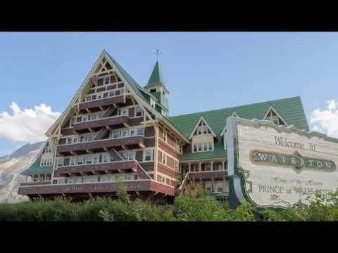 Mountain View #Hotel, Prince of Wales Hotel #Canada in 3 Minutes HD