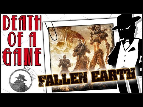 Death of a Game: Fallen Earth (Fallout-like MMORPG)