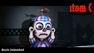 SFM| Balloon Boy Reacts to FNAF World Teaser Trailer| HD