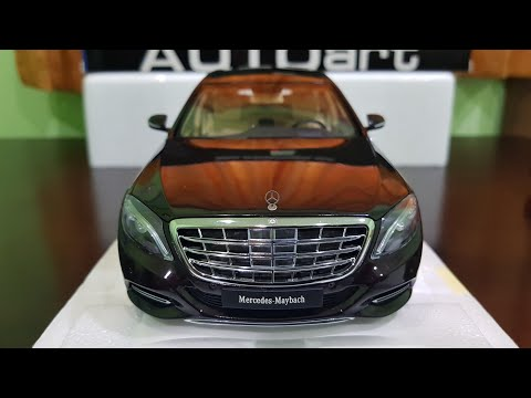 Full review AUTOart Mercedes - Maybach S600 Pullman #autoart #review #unboxing