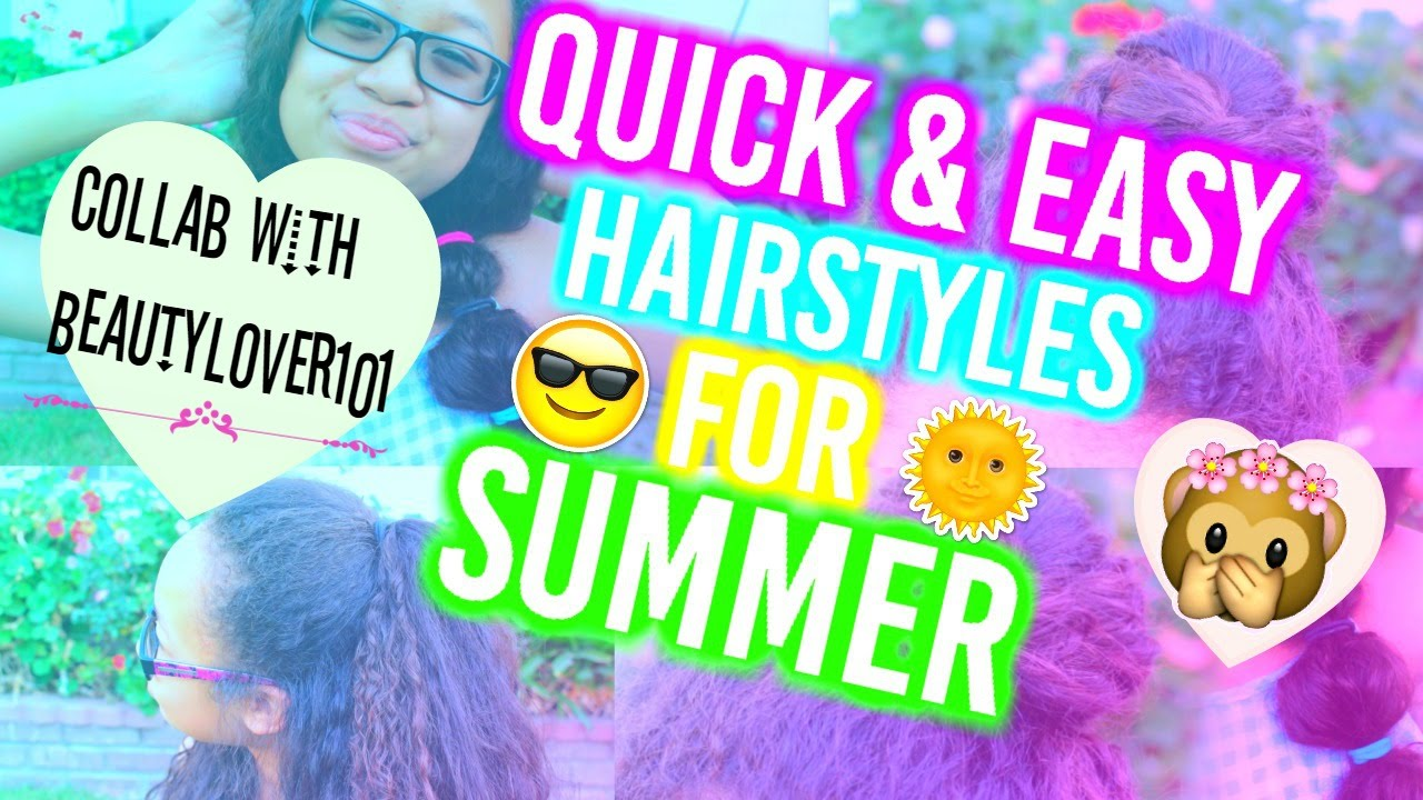 Quick And Easy Summer Hairstyles Cafemom | LONG HAIRSTYLES