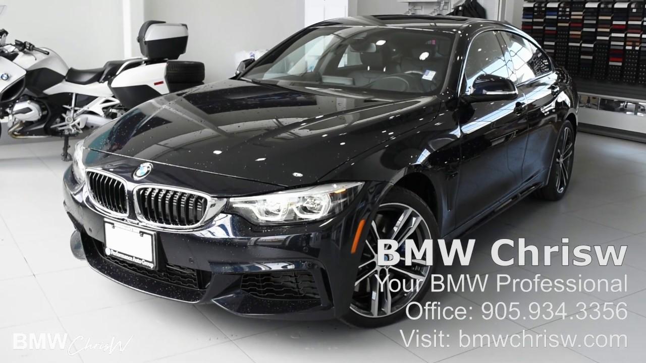 2018 BMW 440i M PERFORMANCE EXHAUST Carbon Black