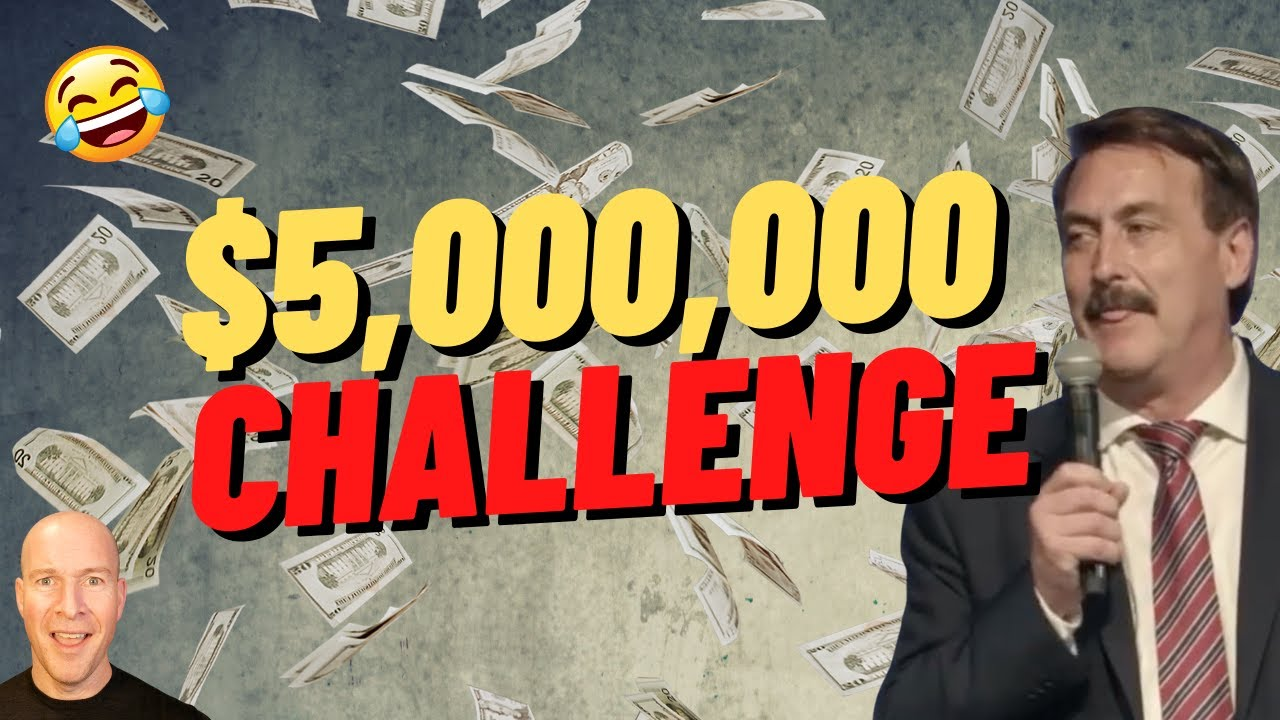 Mike Lindell Reveals $5,000,000 Challenge and You're Not Invited