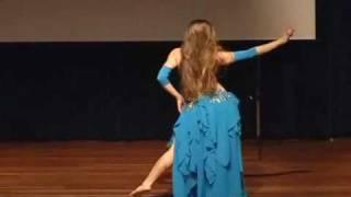 ALINA ELL JAMILLAH  Belly dance ( Inta Omri,  de autoria de Oum Kalthoum.)