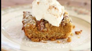 Thanksgiving Pumpkin Crumble Cake Recipe - Pumpkin Pie With A Twist!