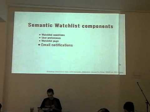 Semantic Watchlist