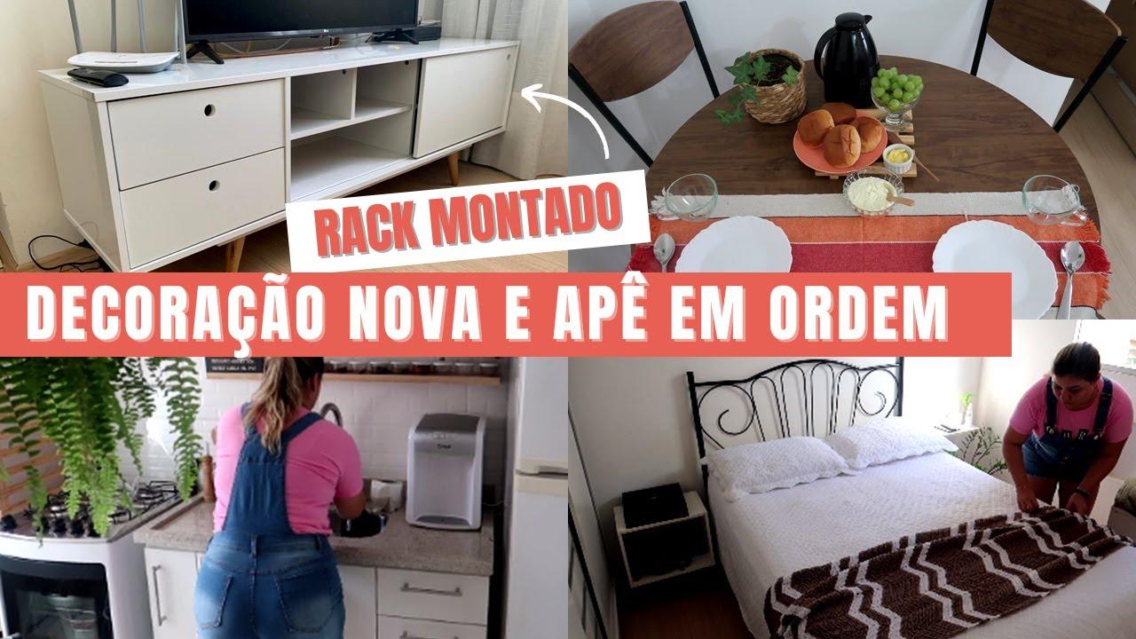 APAIXONADA NO RACK NOVO, ROTINA DIÁRIA & MANUTENÇÃO DE LIMPEZA EM CASA