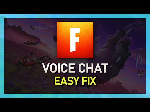 Fortnite - How To Fix Voice Chat Not Working - Windows 10