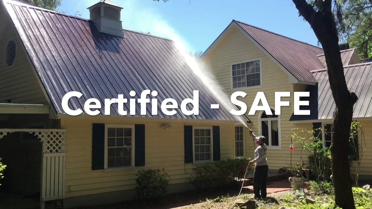 Professional Roof Cleaning Amp Pressure Washing Orlando