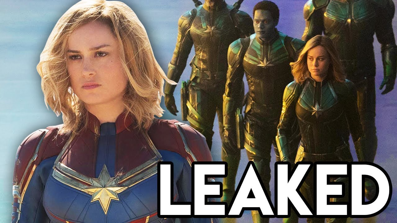 captain marvel leaked scene explained