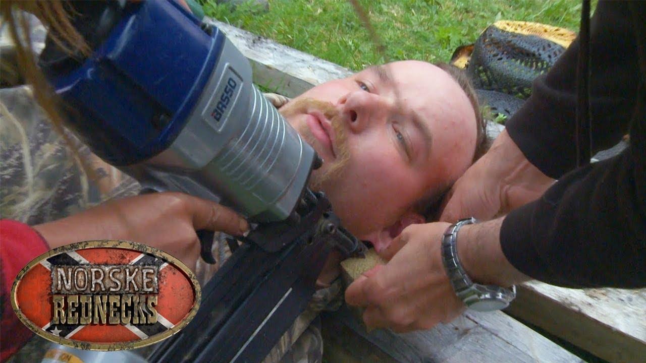 Spikerpistol kan brukes til mye rart | Norske Rednecks