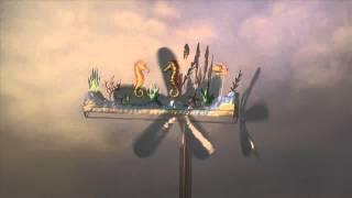 Large Seahorse Whirligig-wind & Weather