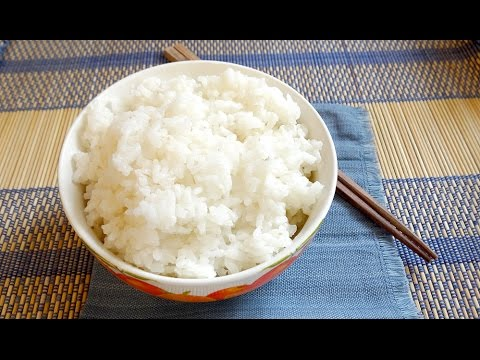 Gohan - ご飯(Japanese Steamed Rice) [without rice cooker ...