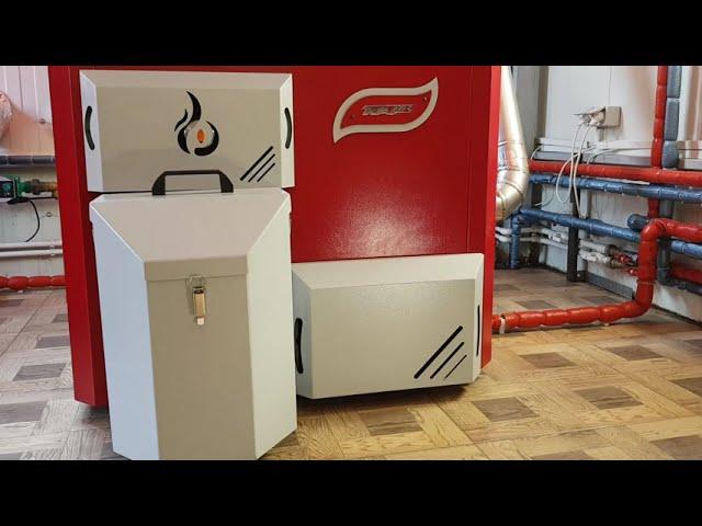 Prezentare Centrala termica pe peleti Pellson X3 30 kW - Curatare automata / Complet automatizata