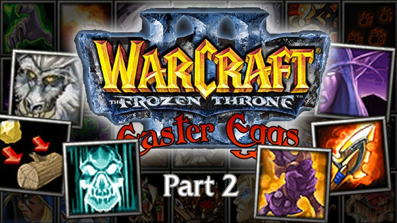 Warcraft 3 Easter Eggs Bonus Icons Spells Part 2 Youtube