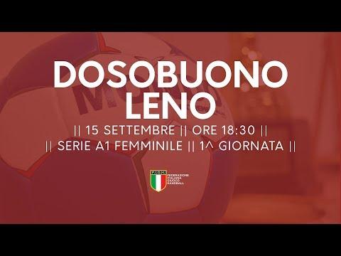 Serie A1 Femminile [1^ giornata]: Dossobuono - Leno 27-20